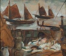 * Rene Marie Dujardin [1913-2002]- 'On the deck of