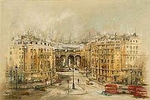 * Ben Maile [born 1922]- Admiralty Arch, London:-