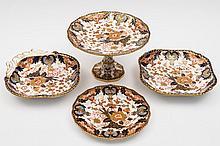 A Royal Crown Derby porcelain dessert service: com