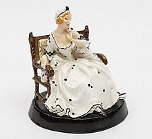 A Royal Doulton figure 'Proposal Lady', HN716: sea