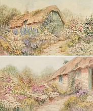 Leyton Forbes [c.1900 - 1925] Thatched cottage