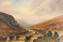 Charles E. Brittan[1870-1949] - Near Loch Ericht,