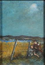 *Jim Gilbert [1933-1995]- Children crossing a