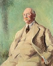Ronald Allan [20th century]- Portrait of George