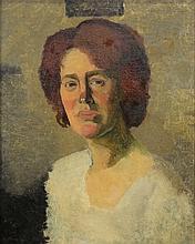 Follower of Venessa Bell 20th century- Portrait of