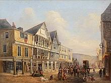 British School 19th century - The Butterwalk,