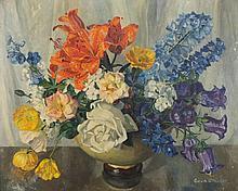 * Gwendoline Whicker [1900-1966]- Summer flowers: