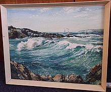 * Donald Greig [1916-2009]- Sunshine & Sea Spray,