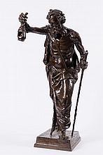 Claudius Marioton (1844 - 1919), A large bronze fi