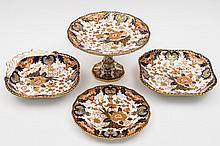 A Royal Crown Derby porcelain dessert service: com