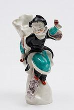 A Royal Worcester figure 'Chinoiserie Child': mode