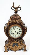 Japy Frères à Paris, a boulle mantel clock: the ei