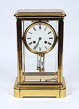 A French four-glass mantel clock: the eight-day du