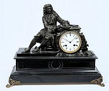 Victor Pirot à Béthel, a marble and bronze mantel