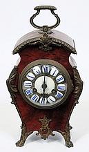 A French Edwardian mantel clock: the eight-day dur