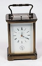 Matthew Norman, a modern carriage clock: the eight