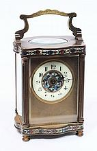 Duverdrey & Bloquel, a French carriage clock with