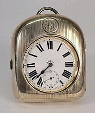 A plated Goliath-style pocketwatch: with eight day