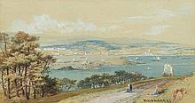 Phillip Mitchell [1814-1896]- Plymouth Sound:- sig