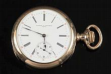 Vacheron & Constantin, Geneve, a gold-plated open-