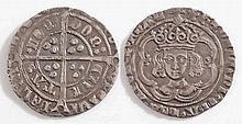 A Henry VII groat:.
