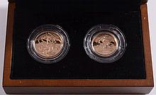 Royal Mint, an Elizabeth II gold proof two-coin co