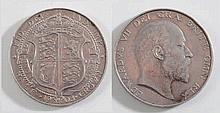 An Edward VII half crown 1903:.