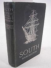 SHACKLETON, Sir Ernest - South : photographic plat