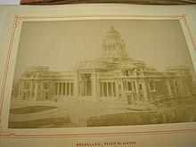 ROME : photograph album with 30 albumen prints, ob