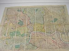 WYLD, Jas [pub] - Wylds New Plan of London and it'