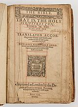 BIBLE : The Bible. That Is, The Holy Scriptures Co