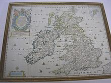 BLOME, Richard - [Great Britain] : A Generall Mapp