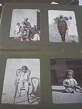 NORTHERN INDIA : Colonial photograph album, org. c