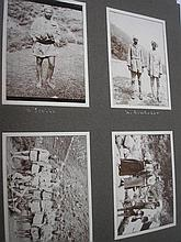NORTHERN INDIA : Colonial  photograph album, org.