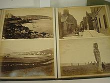 PHOTOGRAPH ALBUM : British topographical, half mor