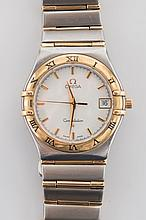 Omega. A gentleman's two-tone stainless steel