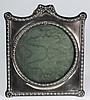 An Edward VII silver easel photograph frame, maker
