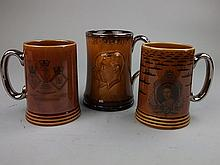 Two Lord Nelson Pottery 1977 Spithead Fleet review