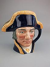 A Royal Doulton character jug, Lord Nelson:,