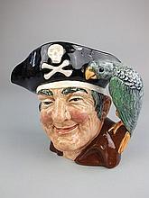A Royal Doulton Character jug, Long John Silver:,