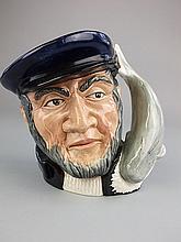 A Royal Doulton Character Jug, Captain Ahab:,