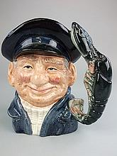 A Royal Doulton Character jug Lobster man:, D6617,