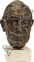 Franta Belsky (1921-2000) A Bronze bust of a, Franta Belsky, Click for value