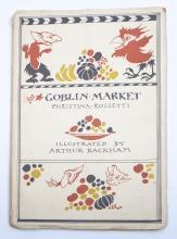 RACKHAM, Arthur - ( illust) : Rossetti (C.) Goblin