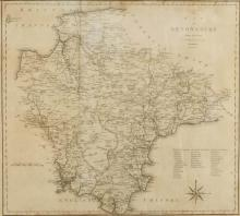 CARY, John - A Map of Devonshire from the best aut