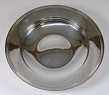 An Elizabeth II silver presentation salver, maker