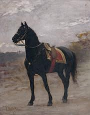 Édouard Bernard DEBAT-PONSAN (1847-1913) Tunis, le