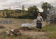 Édouard Bernard DEBAT-PONSAN (1847-1913) La