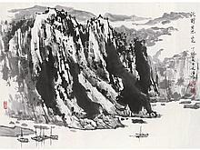 Song Wenzhi landscape
