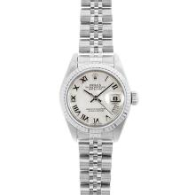 Rolex DateJust SS Ladies Jubilee Wristwatch